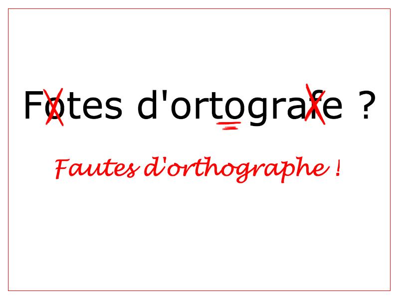 Les Fautes D Orthographe A Eviter Dans Une Lettre De Motivation